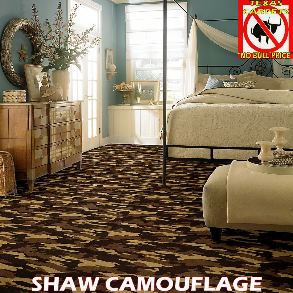 Camouflage Shaw Texas Carpets